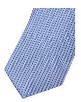 Slim kravata Olymp - světle modrá s vetkaným vzorem