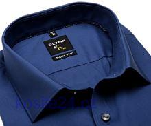 Olymp Super Slim – kovově modrá košile
