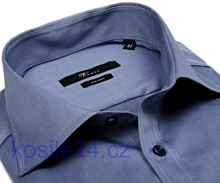 Venti Slim Fit Twill – kovově modrá košile