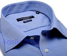 Casa Moda Modern Fit Chambray – středně modrá - extra prodloužený rukáv