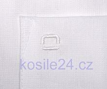 Olymp Luxor Comfort Fit AirCon - bílá košile - krátký rukáv