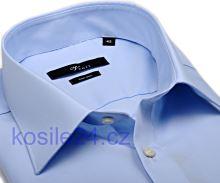 Venti Slim Fit – světle modrá košile - prodloužený rukáv