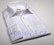 Olymp Luxor Modern Fit Rybí kost - bílá košile