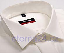 Eterna Modern Fit - champagne gala košile s motýlkovým límcem s dvojitou manžetou a skrytým zapínáním