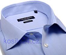 Casa Moda Comfort Fit Chambray – světle modrá - prodloužený rukáv