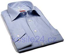 Marvelis Comfort Fit– košile se světle modrým proužkem