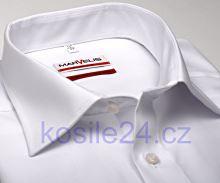 Marvelis Modern Fit Uni - bílá košile - krátký rukáv