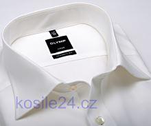 Olymp Luxor Modern Fit - košile champagne - krátký rukáv