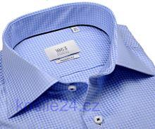 Eterna 1863 Modern Fit Two Ply - luxusní košile se světle modrým vzorem
