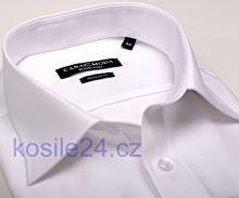 Casa Moda Modern Fit Chambray – bílá košile - extra prodloužený rukáv