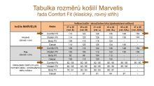 Marvelis Comfort Fit Uni – černá košile